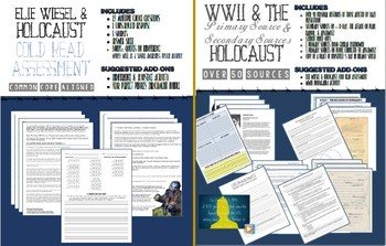 WWII & Holocaust Enrichment Activity Bundle + BONUSES