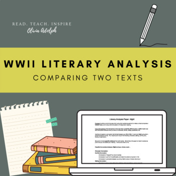 WWII/Holocaust Literary Analysis Assignment- Comparing Texts