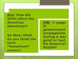 WWII Homefront PowerPoint