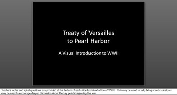 WWII Images on PPT for World War Two Unit Introduction WW2