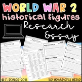 WWII Research Paper Project EDITABLE (world war 2)