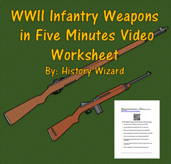 WWII Infantry Weapons in Five Minutes Video Worksheet