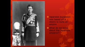 WWII: Japanese Expansion
