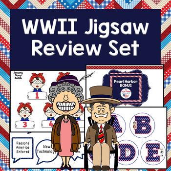 WWII Jigsaw Review Set