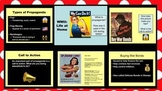 WWII Life at Home Propaganda Analysis - Google Slides, Discussion, and Activity