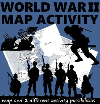 WWII Map Activities by Smart Apple | Teachers Pay Teachers