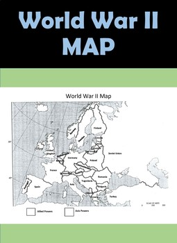 Wwii map world war ii by history hive teachers pay teachers wwii map world war ii gumiabroncs Image collections