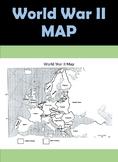 WWII Map - World War II