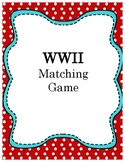 WWII Matching Cards