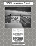 World War II Newspaper Project