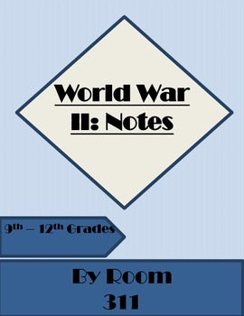WWII Notes