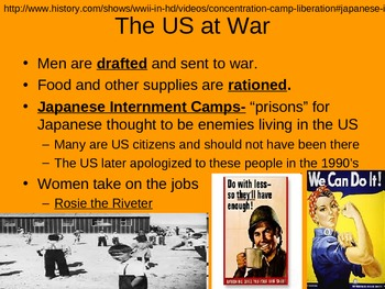 WWII: World War Two Comprehensive Notes Power point