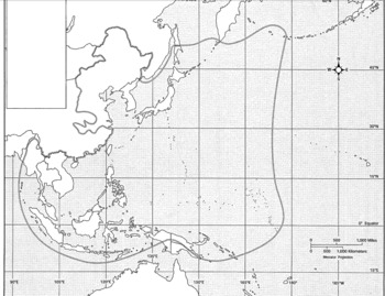 WWII Pacific Theater Map