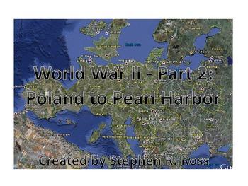 WWII Part 2:  Interactive PPT Presentation