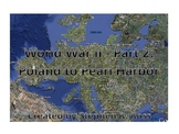 WWII Part 2:  Interactive PPT Presentation