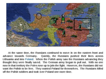 WWII Part 3:  An Interactive PPT Presentation