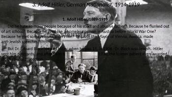 World War II #2. Hitler, Versailles, Woodrow Wilson, Edith Wilson, and the 1920s