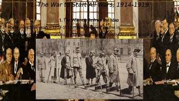 WWII Part I Chapter 1. The War to Start All Wars