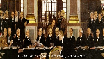 World War II #1. The War to Start All Wars: WWI, and the Russian Revolution
