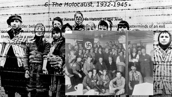 WWII Part III Chapter 10. The Holocaust