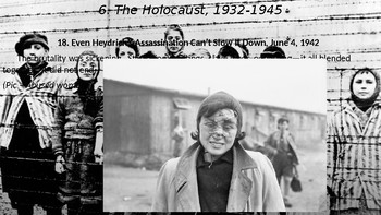 World War II #11. The Holocaust, Part II and Germans Against Hitler