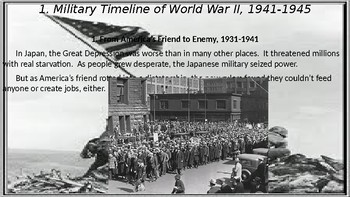 World War II #12. Roosevelt, Truman, and the War in the Pacific