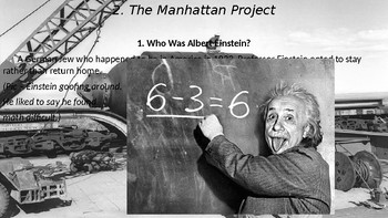WWII Part IV Chapter 13. The Manhattan Project