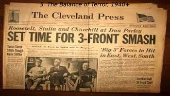 WWII Part IV Chapter 16. The Balance of Terror