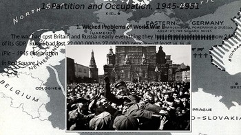 WWII Part V Chapter 17. Denazification