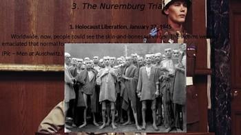 WWII Part V Chapter 18. The Nuremberg Trials.