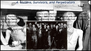 World War II #19. Holocaust Victims and Survivors, and the Nazi Hunters