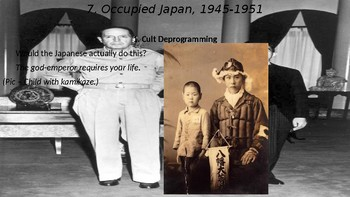 WWII Part V Chapter 20. Occupied Japan
