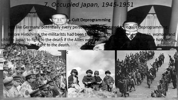 World War II #20. Aftermath: Occupied Japan, the Tokyo Trials, and Israel
