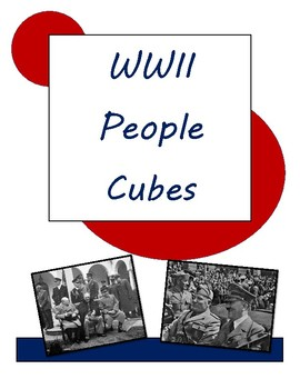 WWII People Cubes