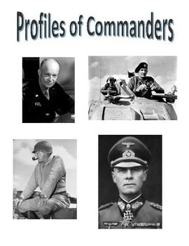 World War II Profiles of Commanders