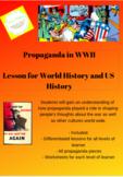 WWII Propaganda Lesson