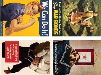 WWII Propaganda Poster Analysis Activity