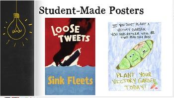 WWII Propaganda Presentation & Poster Project