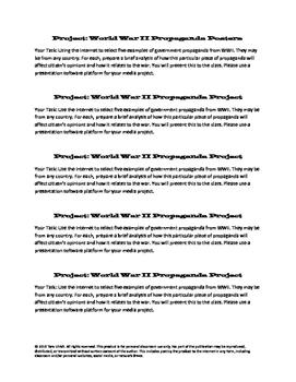 WWII Propaganda Project