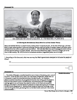 WWII - Rise of Extreme Leaders DBQ - Adolph Hitler, Emperor Hirohito, Mao Zedong