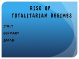 WWII--Rise of Totalitarian Regimes