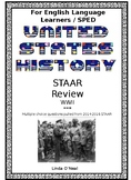 WWII STAAR Questions modified for ELL and SPED