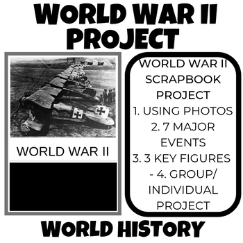 WWII Scrapbook Project