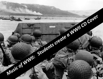 WWII: Students Create a CD Cover of WWII music