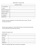 WWII Study Guide