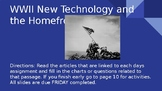 WWII Technology and the Homefront