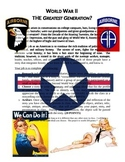 WWII The Greatest Generation Project