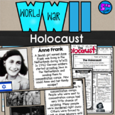 WWII The Holocaust Lesson & Doodle Notes (SS5H4) World War