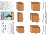 WWII Themed Volume Worksheets