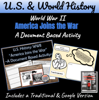 WWII: To what extent was the U.S. involved in the war before 1941? Activity